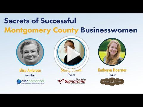 Secrets of Successful Montgomery County Businesswomen