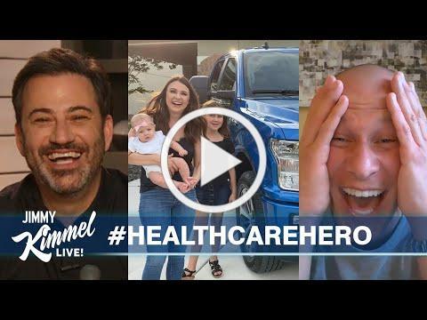 Jimmy Kimmel Surprises Navy Nurse with New Truck