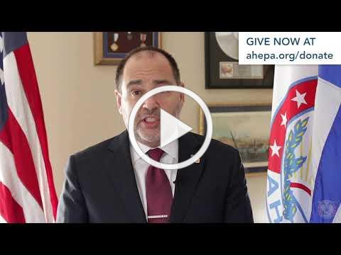 Supreme President Loucas delivers a                                                           #GivingTuesday                                                           message.