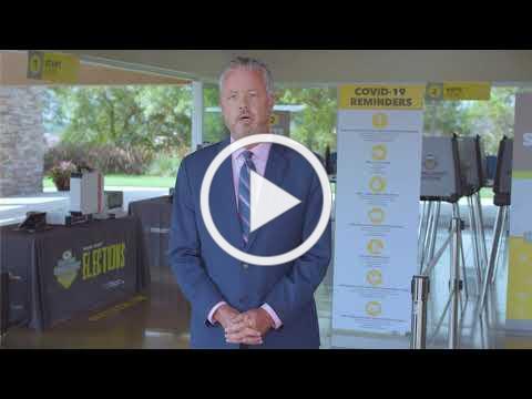 OC Registrar of Voters Neal Kelley's COVID-19 Message