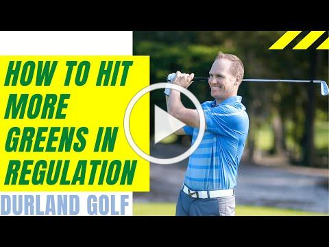 GOLF TIP   How To Hit More Greens in Regulation