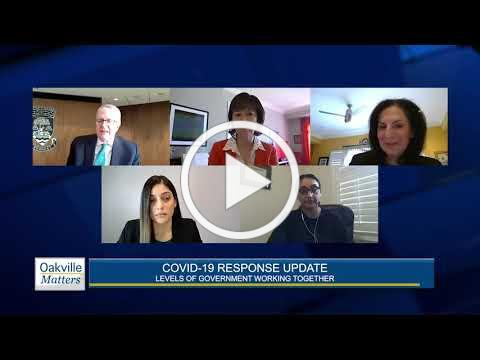 Oakville Matters - COVID Response Update - May 5, 2020
