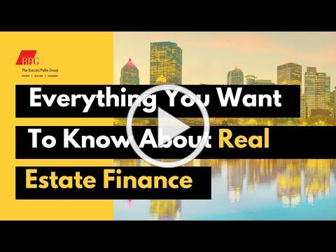 Everything You Want To Know About Real Estate Finance - Bomani Howze and Amachie Ackah