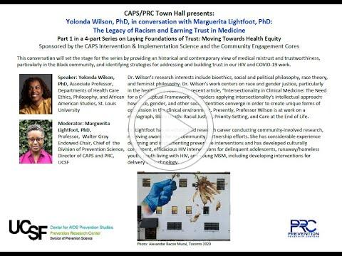 The Legacy of Racism and Earning Trust in Medicine feat. Yolonda Wilson, Ph.D. (Session 1)