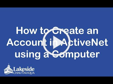 How to create an account and reserve using a computer