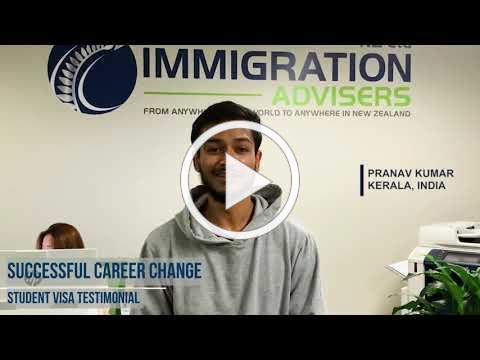 Testimonial I Student Visa I Successful Career Change