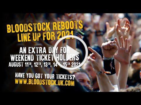 Bloodstock Open Air 2021 - Official UK Metal Festival Trailer
