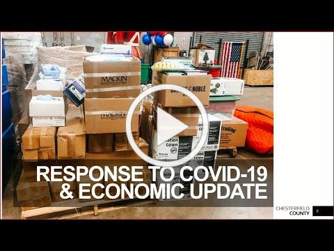 Update to Board of Supervisors on Chesterfield County's COVID-19 response