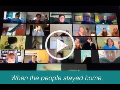 """GCPC Youth Affirmation of Faith: """"When the People Stayed Home"""""""