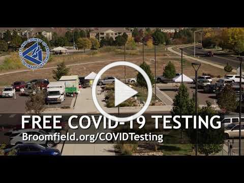 COVID-19 Testing with the City and County of Broomfield