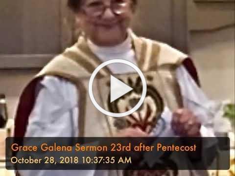 Grace Galena Sermon 23rd after Pentecost