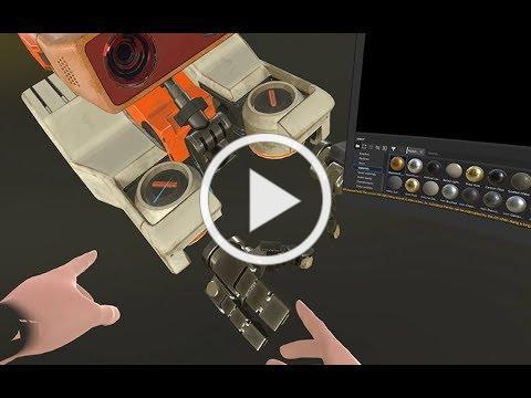 Oculus + Allegorithmic Labs: Hybrid Apps Concept Demo | Oculus Rift