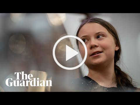 Greta Thunberg at Guardian Live: 'This is an emergency'