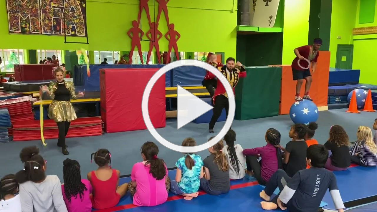 Maywood Fine Arts Open Gym - Circus Day
