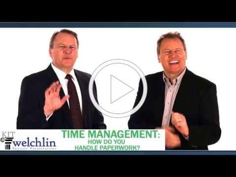 Time Management: How Do You Handle Paperwork?
