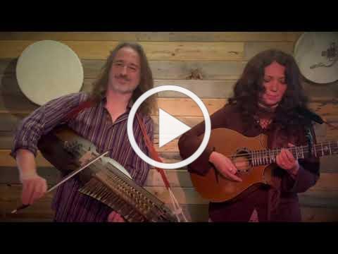 Aryeh Frankfurter & Lisa Lynne perform a Swedish Folk tune on Nyckelharpa and Cittern.