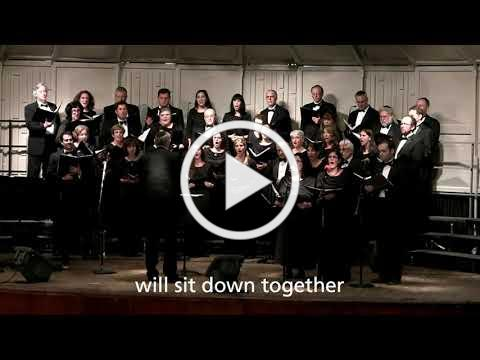 Martin's Dream by David Burger - Zamir Chorale at NAJCF 2013, Matthew Lazar, Conductor