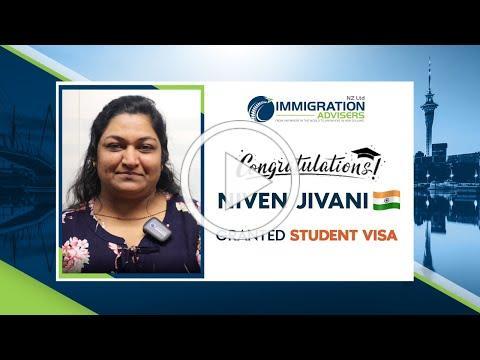 IANZ Client Success Stories | Niven Jivani | Granted Student Visa