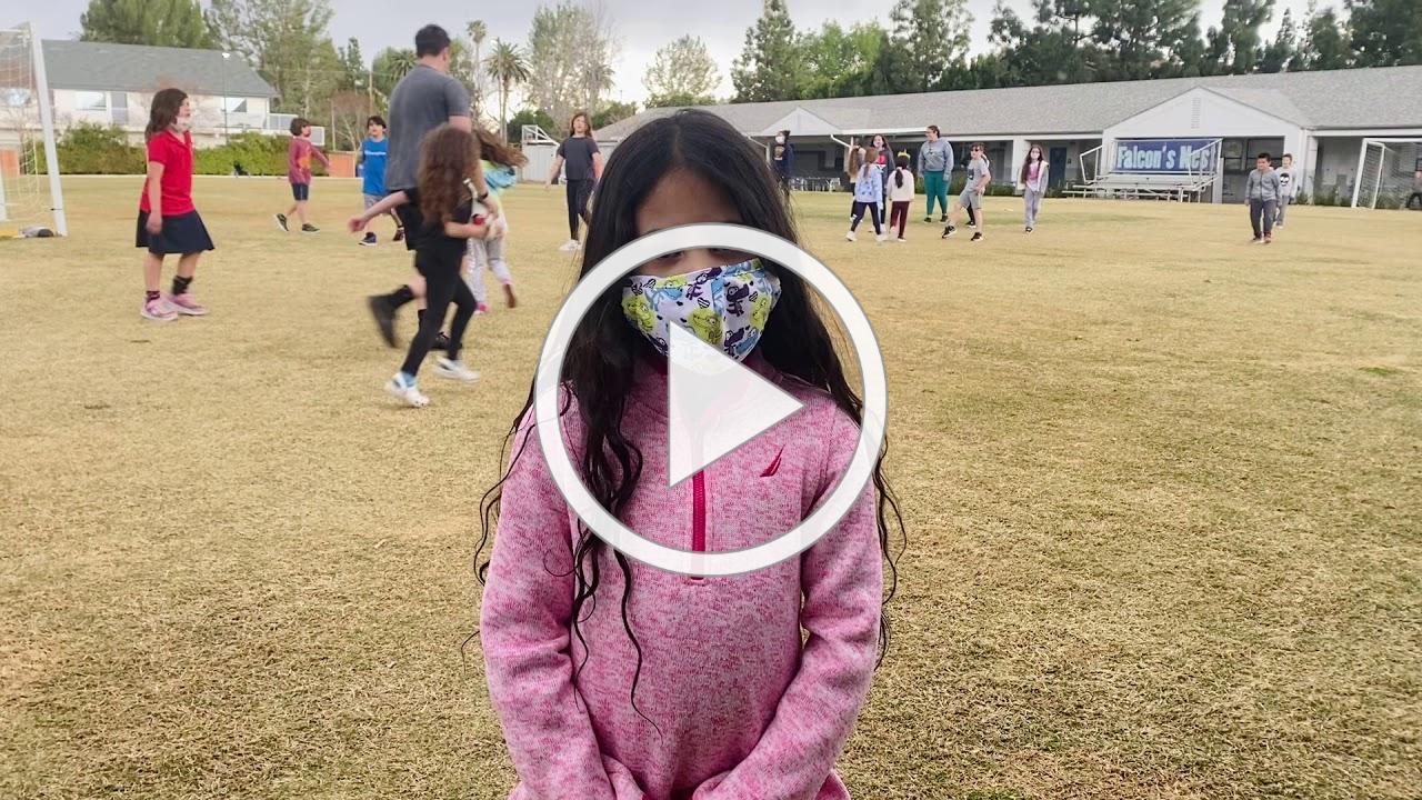 1st Grade Student Spotlight- Jayla
