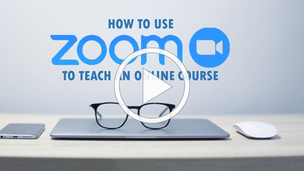 How To Teach an Online Lesson with Zoom