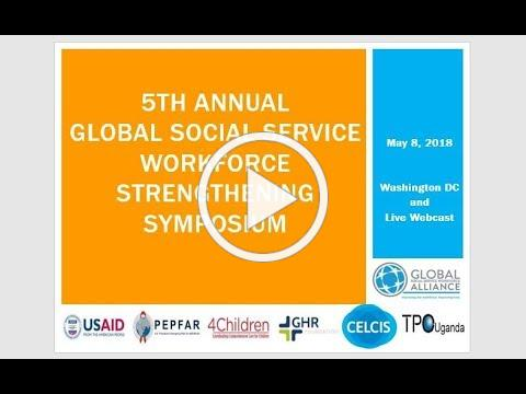 5th Annual Social Service Workforce Strengthening Symposium
