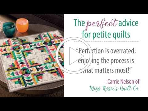 6 smart tips for making mini quilts