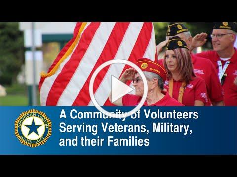 A Community of Volunteers Serving Veterans, Military, and their Families | American Legion Auxiliary