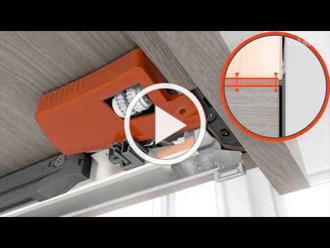 This video demonstrates the height, side, tilt and depth adjustment for BLUM MOVENTO from DARO