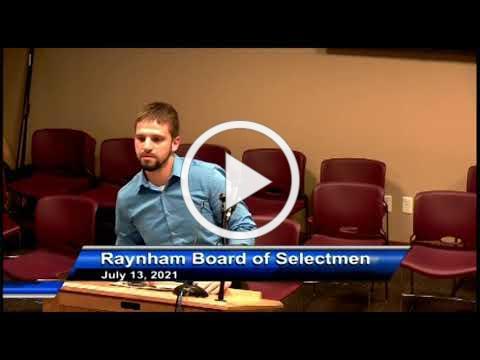 Board of Selectmen 07/13/21