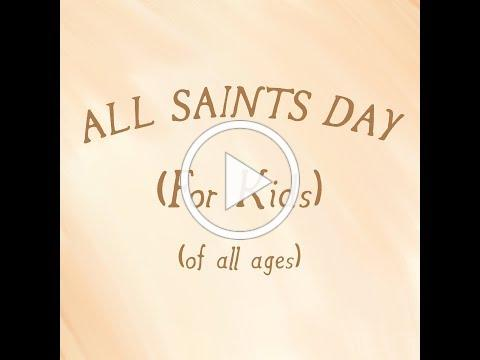 All Saints Day For Kids