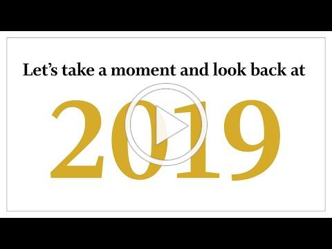 2019 Year in Review and Logo Reveal
