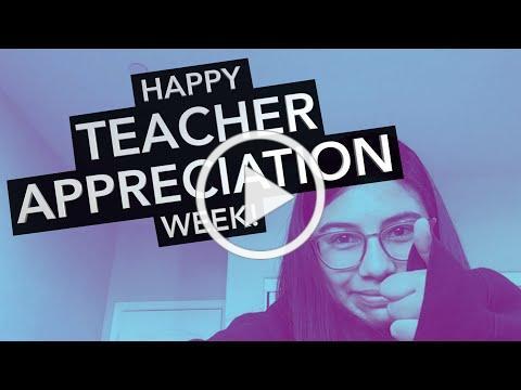 Teacher Appreciation - short
