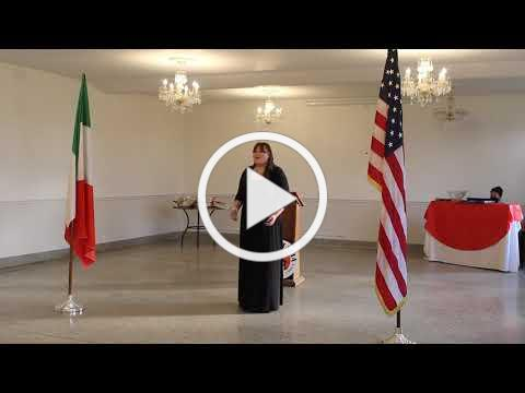 2020 Casa Italia Vocal Scholarship - IAET Scholarship Winner - November 8, 2020, Video 2
