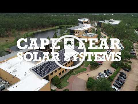 Awesome Commercial Solar Installation in Wilmington, NC   Cape Fear Solar Systems