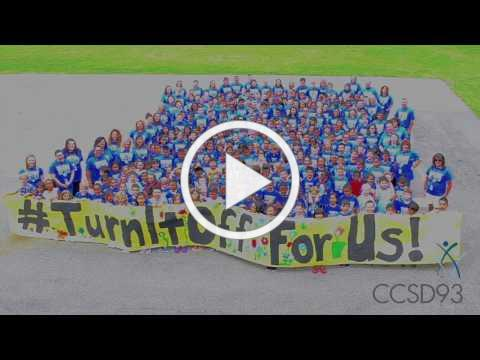 CCSD93 Asks You to #TurnItOff