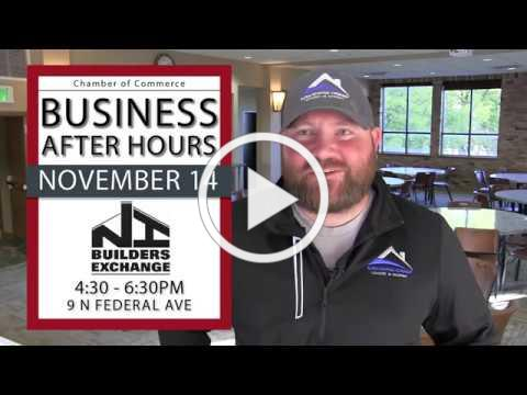 Business After Hours hosted by North Iowa Builders Exchange