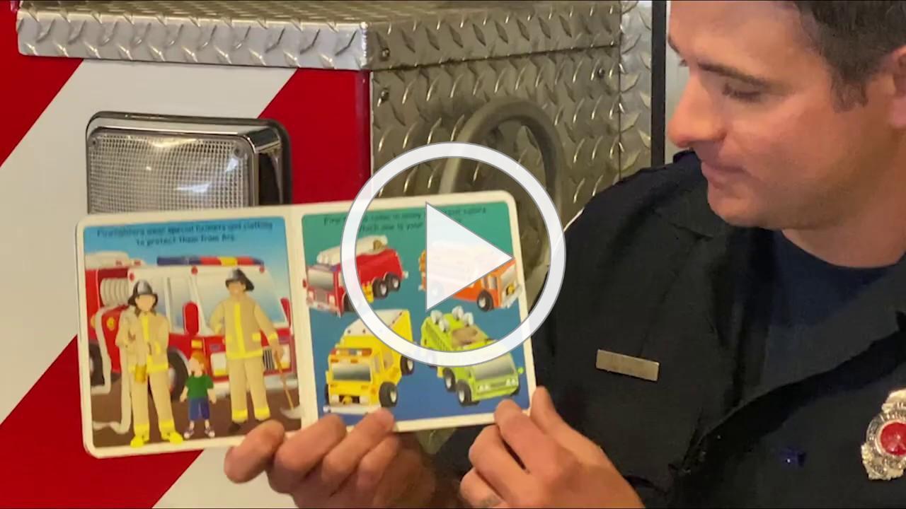STORYTIME WITH ELMHURST FIREFIGHTER PATRICK EVOY
