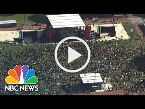 Live: Demonstrators Gather to Commemorate Juneteenth With Marches, Rallies | NBC News