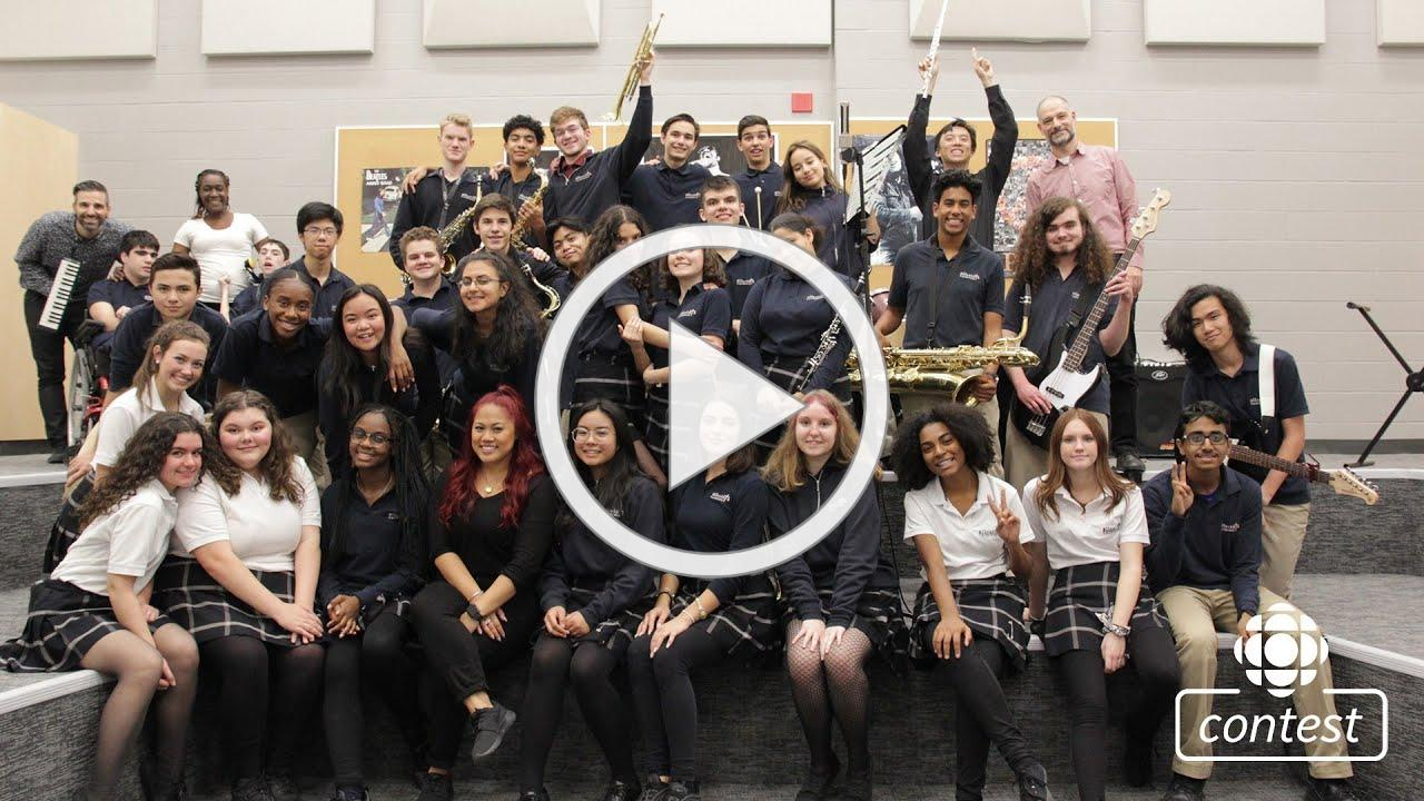 """""""Nowhere With You"""" - All Saints Catholic Secondary School #CBCMusicClass"""