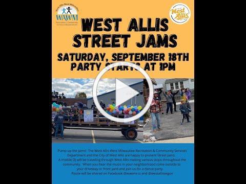 West Allis Street Jams