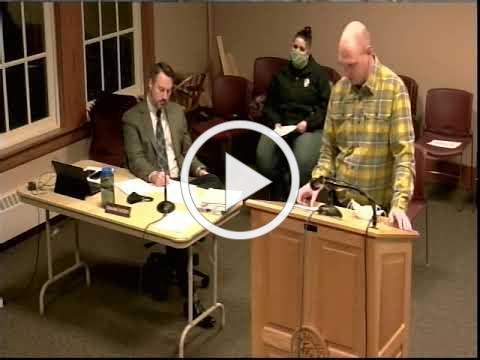 Board of Selectmen 11/03/20