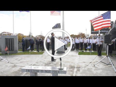 Tritown Veterans Day Ceremony 11 2020