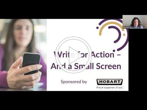 Write for Action and the Small Screen