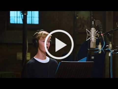Cai Thomas (12y) sings Laudate Dominum | from the recording studio