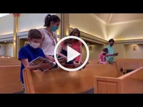Holy Apostles Mass Re-Opening Video