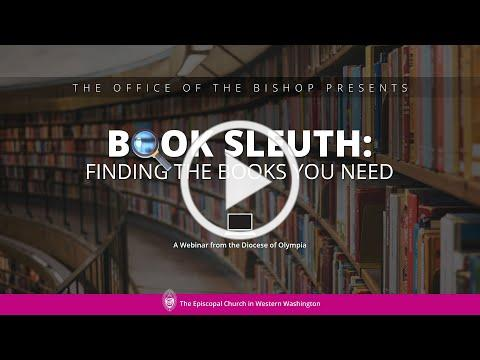 Book Sleuth: Finding the Books You Need