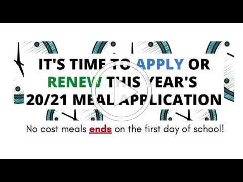 PUSD Meal Service Back to School Video