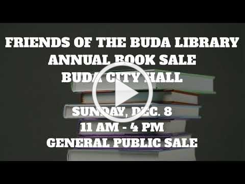 Friends of the Buda Library Annual Book Sale
