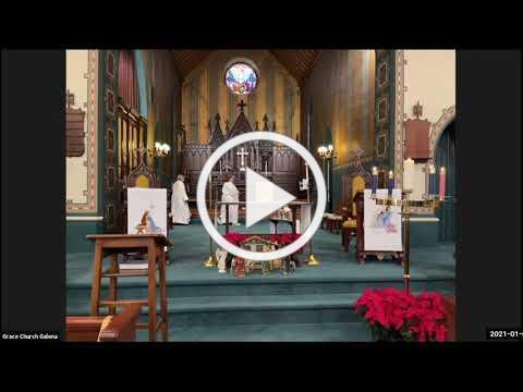Grace Episcopal Church, Galena IL, Epiphany 2020