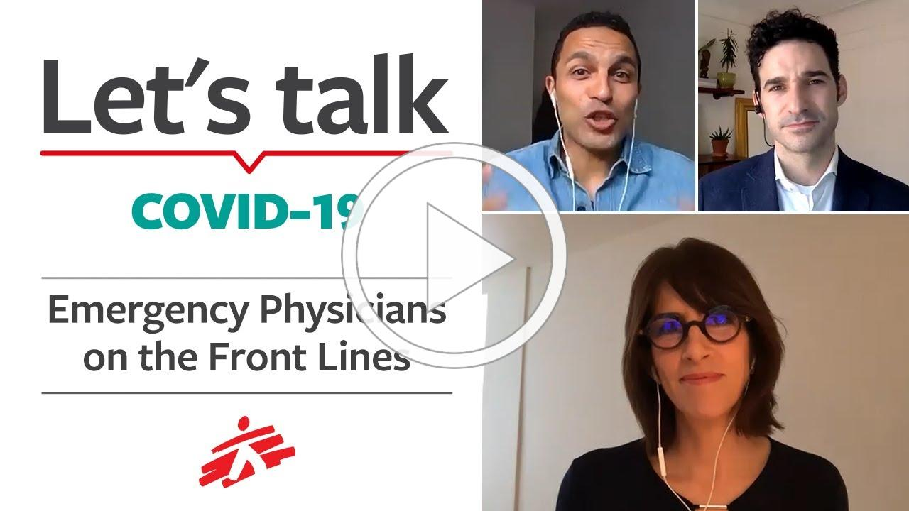 Let's Talk COVID-19: Emergency Physicians on the Front Lines